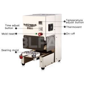 Manual Electrical Aluminum Foil Container Sealing Machine