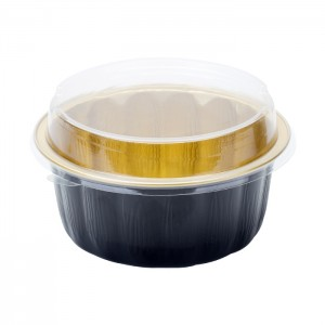AP630 Lacquered Smoothwall Aluminum Foil Containers for Bakery And Catering