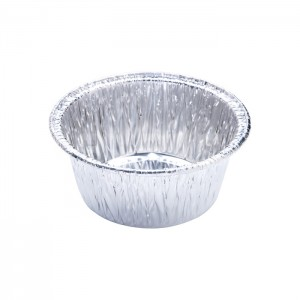 WAP0150 Round Wrinkle Disposable Aluminum Foil Pan