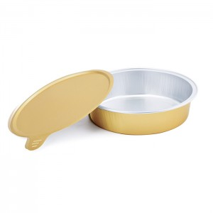 SAP215 Round sealable aluminum foil container