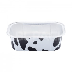 AP200 Rectangular Aluminum Foil Baking Cups