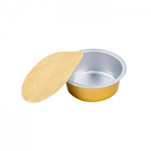 SAP025 Round sealable aluminum foil container
