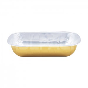 AP320B Rectangular Aluminum Foil Baking Cups