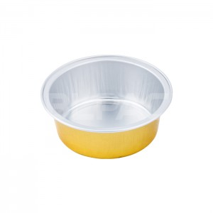 SAP025 Round Aluminum Foil Food Container