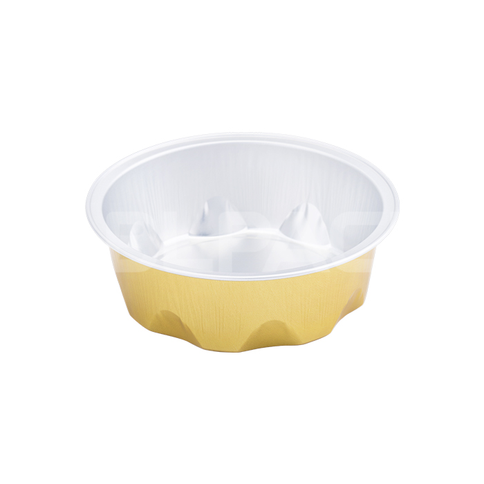 SAP125A Round Aluminum Foil Food Container Featured Image