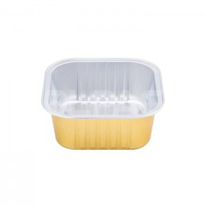 SAP150C Square Aluminum Foil Food Container