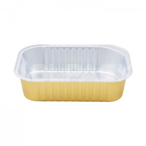 SAP320 Rectangular Aluminum Foil Food Containers