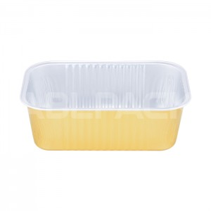SAP620 Rectangular Aluminum Foil Food Container