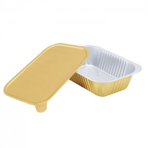 SAP620 Rectangular sealable aluminum foil container