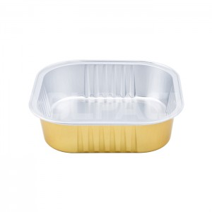 SAP220 Square Aluminum Foil Food Container