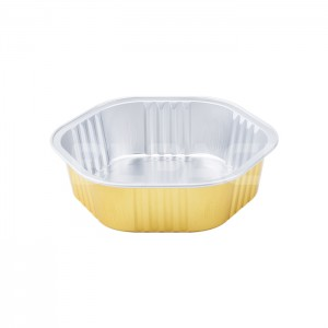 AP330 Hexagonal Aluminum Foil Baking Cups