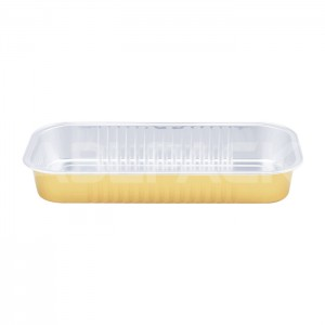 AP500 Rectangular Aluminum Foil Baking Cups