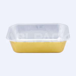 AP280A Rectangula Aluminum Foil Baking Cups