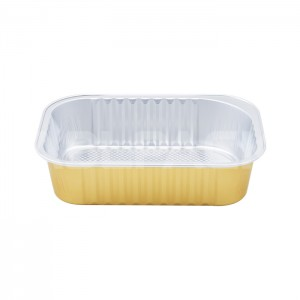 AP320A Rectangular Aluminum Foil Baking Cups