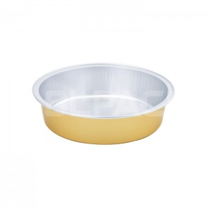 SAP215 Round Aluminum Foil Food Container