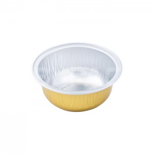 SAP050D Round Aluminum Foil Food Container
