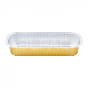 SAP200 Rectangular sealable aluminum foil container