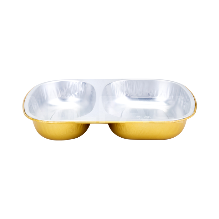 AP850B 2-Compartment Aluminum Foil Food Container Featured Image